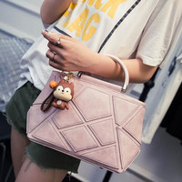 2016 Women's Retro Nubuck Leather Messenger Bags Crossbody Shoulder Handbag Vintage Leather Bag Gift