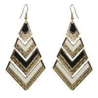 Chevron Epoxy Earring | Shop Jewelry at Wet Seal