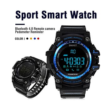 Accewit Aiwatch XWATCH Sport Smart Watch Waterproof Pedometer Stopwatch Smartwatch Message Reminder Wristwatch for Android IOS