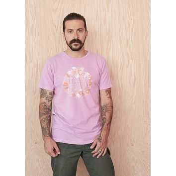 Flowers of One Garden Men's Crew Tee Shirt