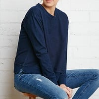 Denim Look Sweatshirt