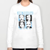 ONE DIRECTION POP SQUARES Long Sleeve T-shirt by Dan Ron Eli