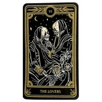 """""""The Lovers"""" Large Embroidered Back Patch– Amrit Brar"""