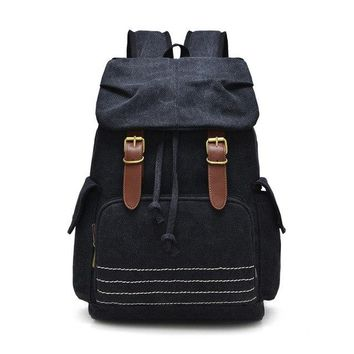 University College Backpack Scione 2018 New Retro Canvas Drawstring  Men and Women Travel Rucksack  School Bags High Quality Canvas sAT_63_4