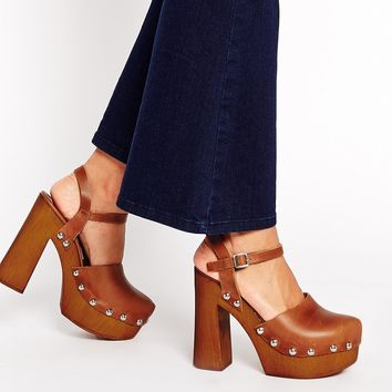 ASOS ORLA Leather High Heels