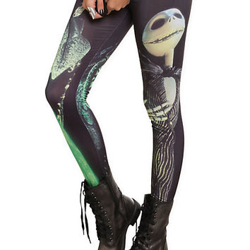 The Nightmare Before Christmas Jack Leggings