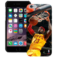 LeBron James Cleveland Cavaliers iPhone 6 Player Case