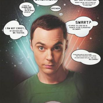 The Big Bang Theory Sheldon Quotes Poster 22x34