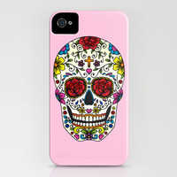Sugar Skull iPhone & iPod Case by Jade Boylan
