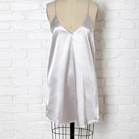 Mira Silk Slip Dress