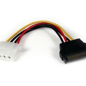 STARTECH 6IN SATA TO LP4 POWER CABLE ADAPTER FM