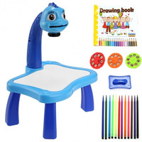 Children Kids Boy Girl Multifunctional Educational Development Drawing Painting Toy Fun Learning Desk Set