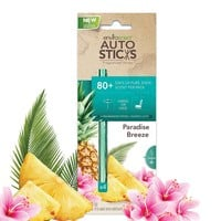 Enviroscent Autosticks Aroma Diffusers for Cars, Paradise Breeze, Box of 4