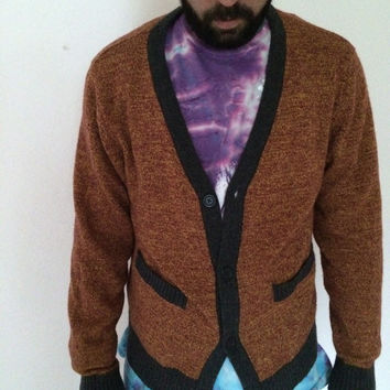 Vintage super hip sweater ohanlon mills cardigan