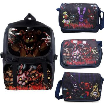 at  Backpack Dragon Ball Z The Legend of Zelda Schoolbag Freddy Fazbear Bear Figure Messenger Bags