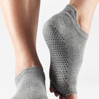 Women's ToeSox Low Rise Half Toe Gripper