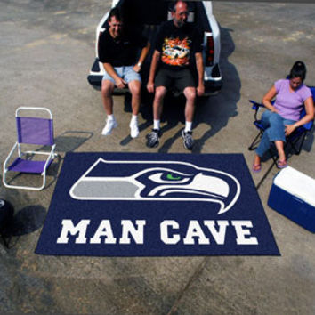 """NFL - Seattle Seahawks Man Cave UltiMat Rug 60""""x96"""""""