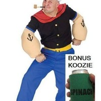 Popeye the Sailor Man Mens Costume