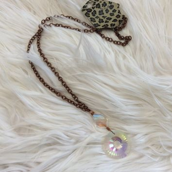Crystal Prism Necklace