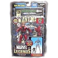 Marvel Legends Exclusive Series Action Figure Ant Man with Giant Man Builder Piece