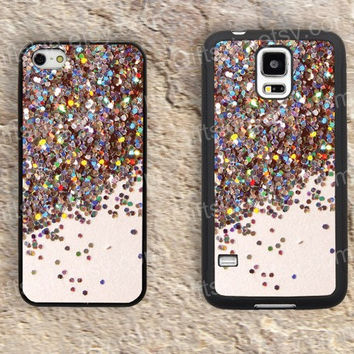 Shine colorfull  iphone 4 4s iphone  5 5s iphone 5c case samsung galaxy s3 s4 case s5 galaxy note2 note3 case cover skin 145