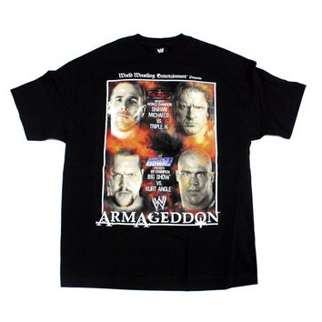 WWE ARMAGEDDON 2002 T-SHIRT XL