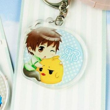 Game Time Raiders Q version Anime Keychain Figure Model Acrylic Transparent Colorful Women Men Girl Cute Keyring Fans Child Gift