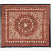 Paisley Mandala Double Tapestry Red Combo One Size For Women 25227834901