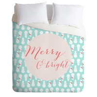 Allyson Johnson Merry And Bright Duvet Cover