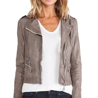 DOMA Moto Jacket in Gray