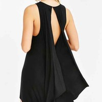 Silence + Noise Superpower Drape-Back Dress
