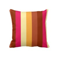 Colored Stripes cushion