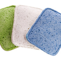 Flip Scrubber Sponges, Set of 9, Cleaning Tools