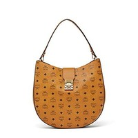 Mcm Women's MWH8SPA47CO001 Brown Pvc Shoulder Bag