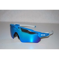 Oakley Radar EV Path Sunglasses OO9208-03 Sky/Sapphire Iridium NEW