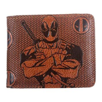 Deadpool Dead pool Taco wallet men  marvel Joker/black panther/Star Wars/Batman// vintage Wallets with card holder Zipper coin pocket purse new AT_70_6