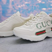 Gucci Rhyton Vintage Trainer Sneaker - Ready Stock