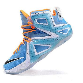 Cheap Priced LeBron 12 XII Elite Elevate Light Retro Hot Lava Artisan Teal Sunset Glow 724559 488 Brand sneaker
