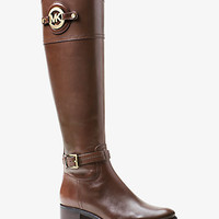 Stockard Leather Boot | Michael Kors