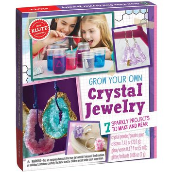 Klutz Make Grow Your Own Crystal Jewelry