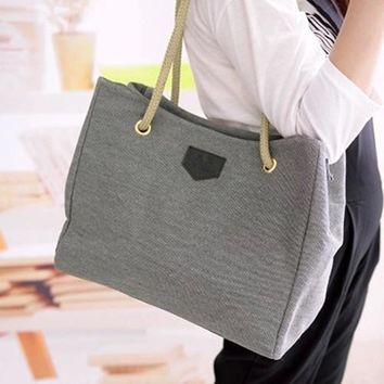 Women's Fashion Hobo Canvas Shoulder Bag Messenger Purse Satchel Tote Handbag