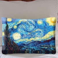 Starry Night Van Gogh in Decorative Pillow Covers