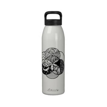 Seed of Life Mandala Water Bottle