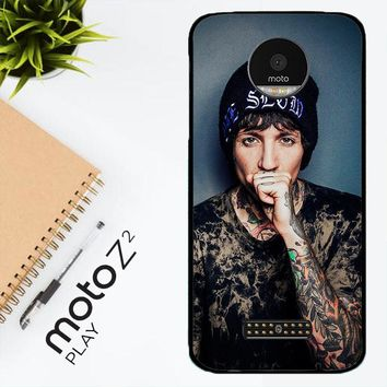 Oliver Sykes Bring Me The Horizon And Signature F0543 Motorola Moto Z2 Play Case