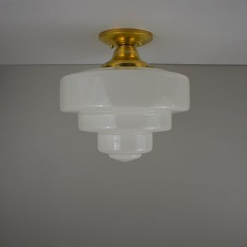 Deco Wedding Cake Flush Mount Light