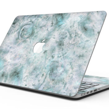 Marble Surface V2 Teal - MacBook Pro with Retina Display Full-Coverage Skin Kit