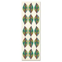 Tribal Leaves Yoga Mat> Pom Graphic Design