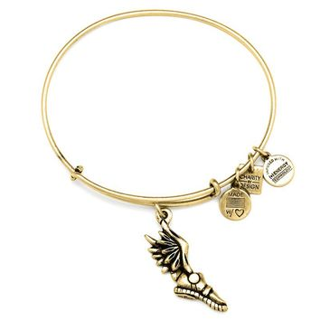 Alex and Ani Champion Charm Bangle - Russian Gold