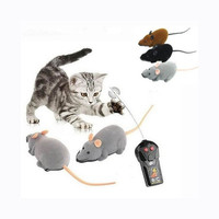 Funny Remote Control RC Wireless Rat Mouse Toy for Cat Dog Pet Novelty Gift = 1929625476