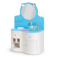 American Girl® : Bathroom Vanity for Dolls